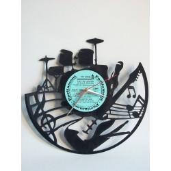 """Horloge Vinyl """"Music band"""""""