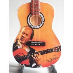 Guitare miniature en...