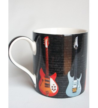 Mug déco guitares de légende