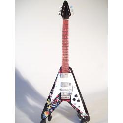 Guitare miniature flying V...