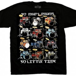 "T-shirt ""So many drums"""
