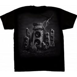 T-shirt Guitare dans le Rock